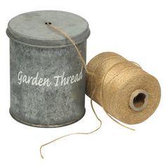 Ib Laursen Tin Can for Garden String $19 - Perch Home
