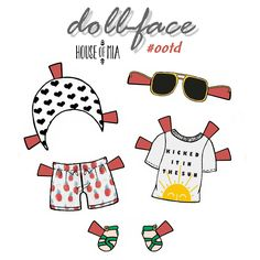 House Of Mia Paper Doll Ootd By Christen Noelle