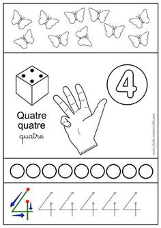 Math Activities, Preschool Activities, Act Math, Arabic Alphabet For Kids, Math Sheets, Art Education Lessons, French Kids, Learning Arabic, Math For Kids