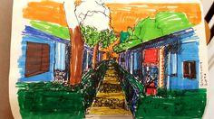 Sketching, Fair Grounds, Fun, Painting, Travel, Voyage, Painting Art, Paintings, Viajes