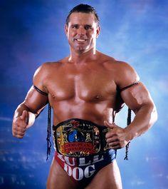 "WWF European Champion ""British Bulldog"" Davey Boy Smith"