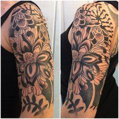 Tattoo by Gemma Pariente - Full Circle Tattoo - San Diego, CA.