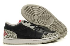 competitive price 85eab a3423 Air Jordan 1 Low Phat Black Cement. Cheap JordansNike ...