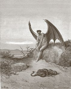 Dantes Inferno - The Devil | Gustave Dore