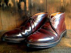 ALDEN Chukka Boots Toe repair   BRASS BLOG