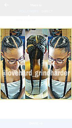 Hot braids!