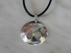 Iso tassu + kaiverrus Washer Necklace, Personalized Items, Jewelry, Jewlery, Bijoux, Schmuck, Jewerly, Jewels, Jewelery