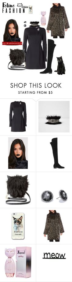 """""""Feline fashion"""" by chantelle3798 ❤ liked on Polyvore featuring N°21, River Island, Vince Camuto, Charlotte Russe, Rafaella and feline"""