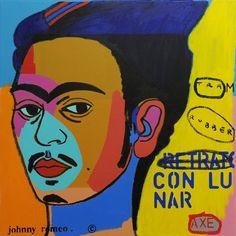 Johnny Romeo    Con Lunar – 2011 Photo Transfer, Illustration, Fictional Characters, Design, Art, Art Background, Kunst, Illustrations