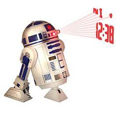 DESPERTADOR PROYECTOR STAR WARS: R2-D2