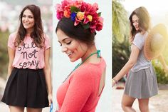 Bethany Mota's spring collection for Aeropostale hits stores this weekend! Get a sneak peek here.