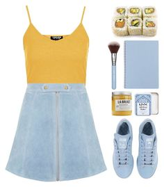"""""""Live daringly, boldly, fearlessly."""" by dana-rachel ❤ liked on Polyvore featuring Topshop, adidas and Toast"""