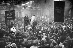 A short account of the Anarchist Black Guards and their suppression by the Bolsheviks in Moscow in 1918 - This Day in History: Mar 8, 1917: February Revolution begins http://dingeengoete.blogspot.com/