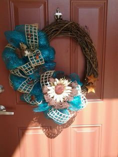Western wreath! Love!