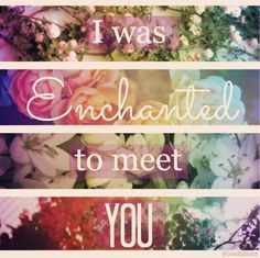 Enchanted by Taylor Swift. Still my favorite song after all these years.