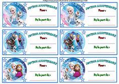 Anniversaire :  Etiquettes invitations Reine des neiges pour anniversaire http://nounoudunord.centerblog.net/4260-etiquettes-invitations-reine-des-nieges-pour-anniversaire