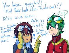 Daisuke and Haru
