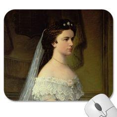Elizabeth de Baviera, imperatriz de Áustria Mousepads