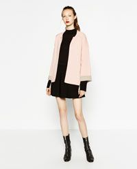 DOUBLE-FACED SQUARE CUT JACKET