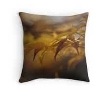 Sea of yellow leaves, Throw Pillow
