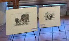 Di White etchings at Art SA Exhibition Etchings, Brush Strokes, My Animal, Exhibitions, Fine Art America, My Arts, Vibrant, Colours, Prints