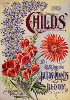 Cover of 'Childs' 1902 Fall Catalogue of Bulbs and Plants that Bloom' - John Lewis Childs, Floral Park, N. Y. U.S. Department of Agriculture, National Agricultural Libraryarchive.org