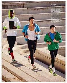 'Rendimiento y victoria': Editorial por Gork Postigo para ICON Sport Premiere Issue - Male Fashion Trends