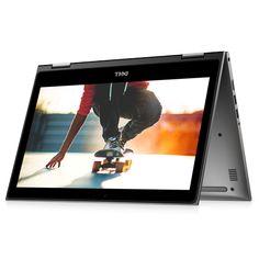 """Notebook 2 em 1 Dell, Intel® Core™ i5-7200U, 8GB, 1TB, Tela de 13,3"""", Cinza, Inspiron 13 Série 5000 - i13-5378-A20C - DEI135378ACNZ"""