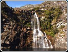 PN Serra do Cipó - Minas Gerais: Cachoeira da Capivara (50m e 54m) - Jaboticatubas - MG