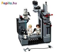 Recreate epic Death Star escape scenes with Princess Leia and Luke Skywalker! Luke Skywalker, Obi Wan, Princess Leia And Luke, Darth Vader Father, Darth Vader Lightsaber, Princesa Leia, Lego City Police, Lego System, Lego Store