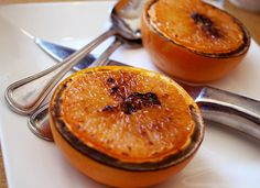 Try This! Sweet and Smoky Broiled Grapefruit