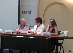 Alejandro Katz, Nubia Macías y Ana Cañellas