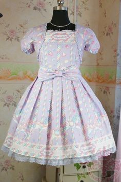 Dream of Lolita Sugary Carnival One Piece Dress