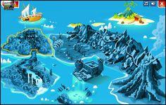 game island map - Google Search