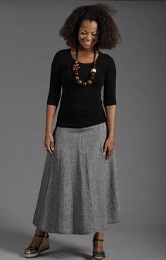 Lousje & Bean  Pie Skirt  SS2013