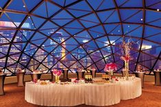 Cocktail reception on the floor, glass dome, at the Millennium Hotel Minneapolis (used on their website) Wedding Reception Timeline, Cocktail Wedding Reception, Wedding Venues, Wedding Ideas, Budget Wedding, Wedding Stuff, Trendy Wedding, Perfect Wedding, Dream Wedding