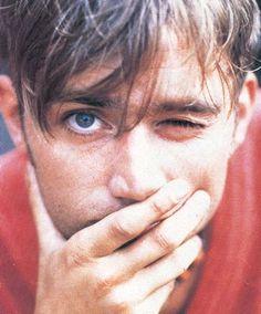 Damon Albarn Blur and Gorillaz. Damon Albarn, Jamie Hewlett, Gorillaz, Blur Band, Going Blind, Celebrities Reading, Robert Smith, Matthew Gray Gubler, Britpop