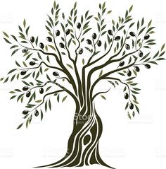Olive Tree Clipart 51 New Ideas Olive Tree Tattoos, Olive Tattoo, Aquarell Tattoos, Tree Clipart, Tree Graphic, Tree Artwork, Tree Illustration, Tree Wallpaper, Tree Silhouette