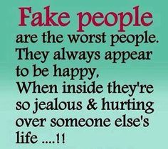 Truth can't stand fakes