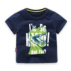 d8970200b New 2017 Summer Hot Boys Cartoon Shirts Baby Boys Short Sleeve T Shirt Kids  Fashion Style Shirt Cotton Children Clothes