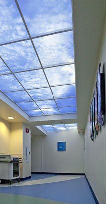 Healthcare Lighting at Children's Medical Center of Dayton Modern Office Design, Modern Interior Design, Interior Design Inspiration, Modern Offices, Clinic Design, Healthcare Design, Children's Medical Center, Lobby Interior, Hospital Design