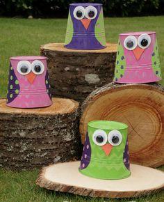 Easy Owl Buckets