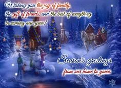 Send this heartwarming greeting to your near and dear ones send seasons greetings to your family and friends free online magic and wonder of holiday season ecards on seasons greetings m4hsunfo