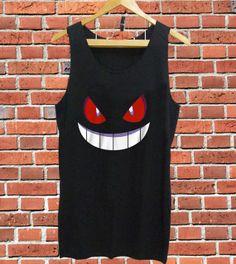 Best Design POKEMON GENGAR tank top mens and T shirt by GoodJobs, $12.99
