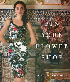 #FlowerShop #Anthropologie