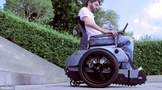 Watch This Student-Designed Wheelchair Travel Up A Flight Of Stairs Climbing, Motorcycle, Vehicles, Mobility Scooters, Wheelchairs, Disability, Free Delivery, Student, Stairs