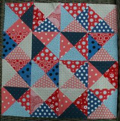 14 Little Quilt of Love #28 in progress