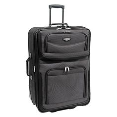 Travelers Choice Travel Select Amsterdam 29 in Large Lightweight Expandable Rolling Upright Luggage Bag -- Continue to the product at the image link.