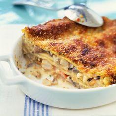 I'm checking out a delicious recipe for Lasagna Frutti di Mare from Kroger! Frutti Di Mare Recipe, Fish Recipes, Pasta Recipes, Fish Dishes, Healthy Meal Prep, Vegan Baking, Lasagna, Macaroni And Cheese, Easy