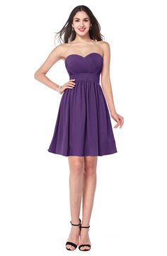 a65de29b424 25 Best Dark purple bridesmaid dresses images